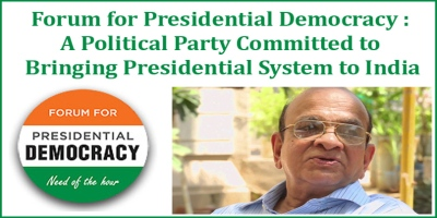 india should adopt presidential system (the author is founder and ceo of the divya himachal group and author of 'why india needs the presidential system' this is a personal blog and the views expressed above are the author's own.