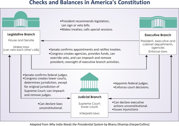 Checks and Balances in US Presidential System