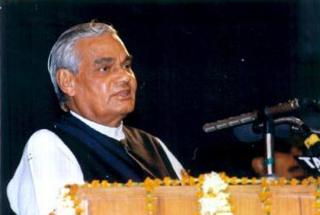 Vajpayee speaking