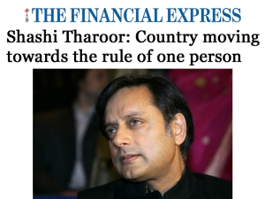 financial express presidential system