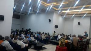 Hindi book launch audience