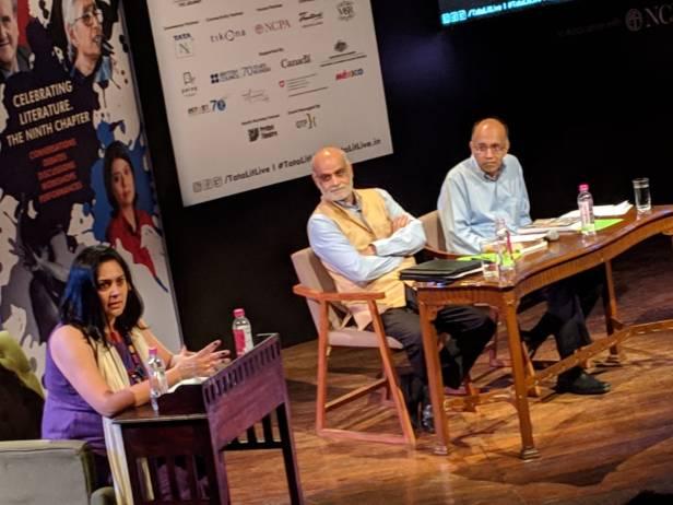 Bhanu Dhamija Tata Litfest Debate India Needs Presidential System